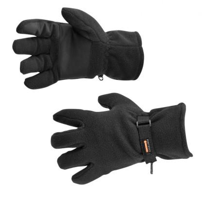 GL12 Thinsulate polár bélelt kesztyű fekete