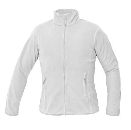 GOMTI női polár pulóver fehér