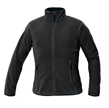 GOMTI női polár pulóver fekete