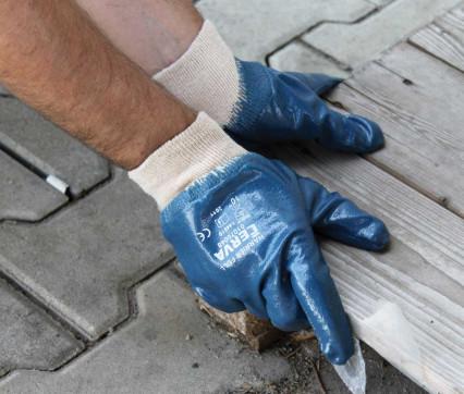 HARRIER FULL nitrilbe félig mártott kesztyű