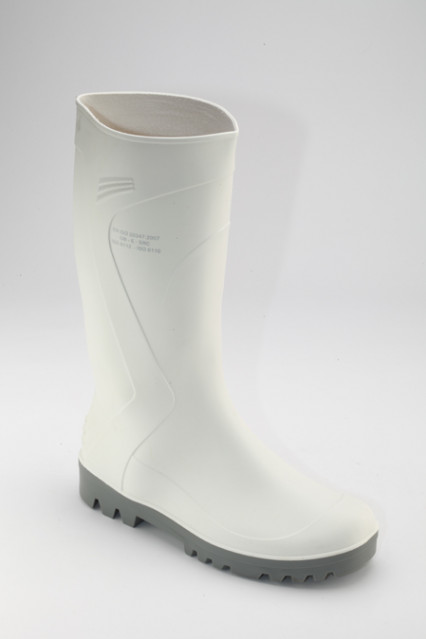 HERCULES-KB-W PVC csizma, fehér