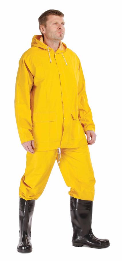HYDRA sárga PVC esőruha