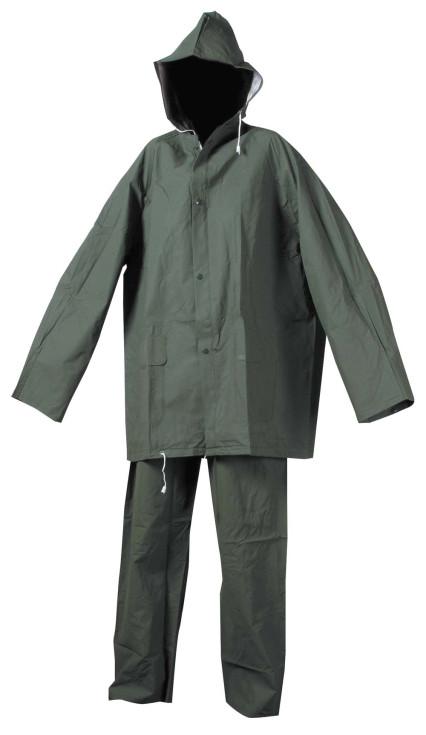HYDRA zöld PVC esőruha