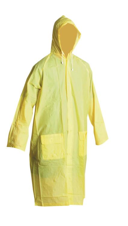 IRWELL sárga PVC esőkabát