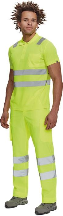 JAEN HV galléros póló sárga