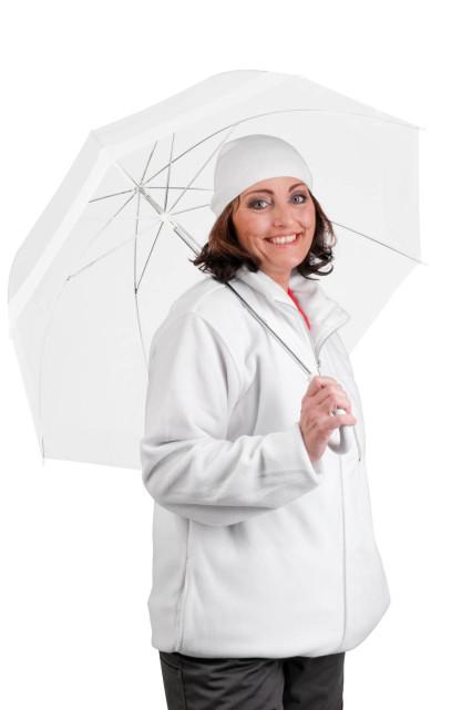 KARELA polár pulóver fehér