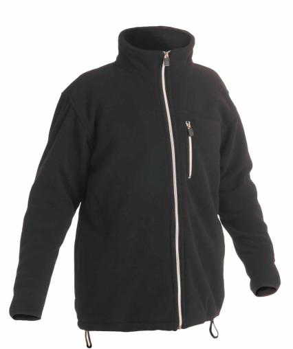 KARELA polár pulóver fekete