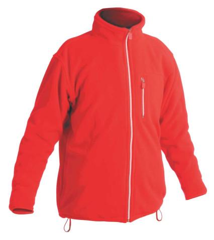 KARELA polár pulóver piros