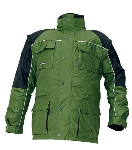 Kifutó! STANMORE téli dzseki 3 az 1-ben zöld