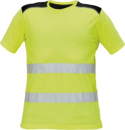 KNOXFIELD Hi-Vis ru. póló sárga