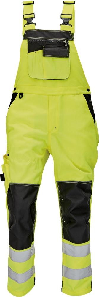 KNOXFIELD HV FL290 mellesnadrág sárga