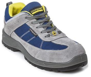 LEAD S1P ESD félcipő szürke/kék