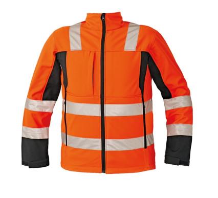 MALTON softshell kabát HV narancs