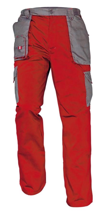 MAX EVOLUTION nadrág piros-szürke