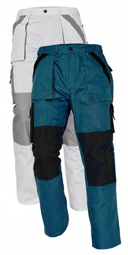 MAX nadrág fehér-szürke