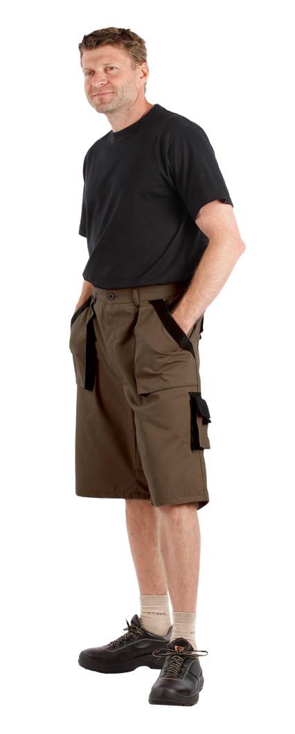 MAX rövidnadrág barna/fekete