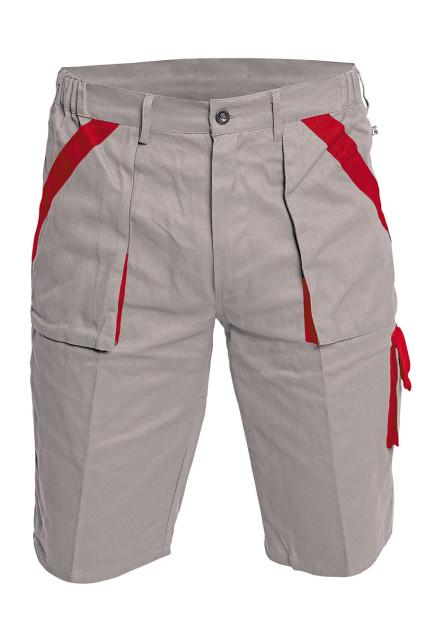 MAX rövidnadrág szürke/piros