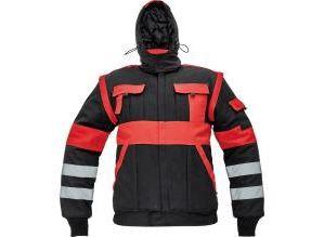 MAX WINTER RFLX téli dzseki fekete/piros