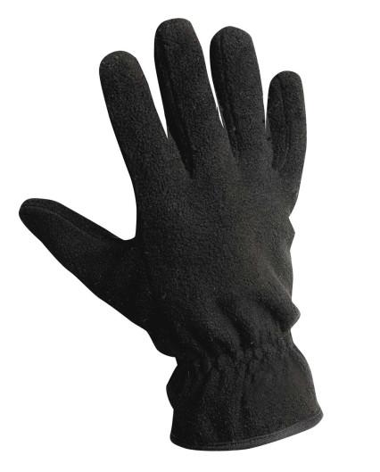 MYNAH fekete polár kesztyű