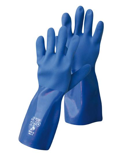NIVALIS vegyszerálló PVC kesztyű