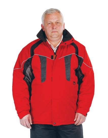 NYALA bélelt dzseki piros