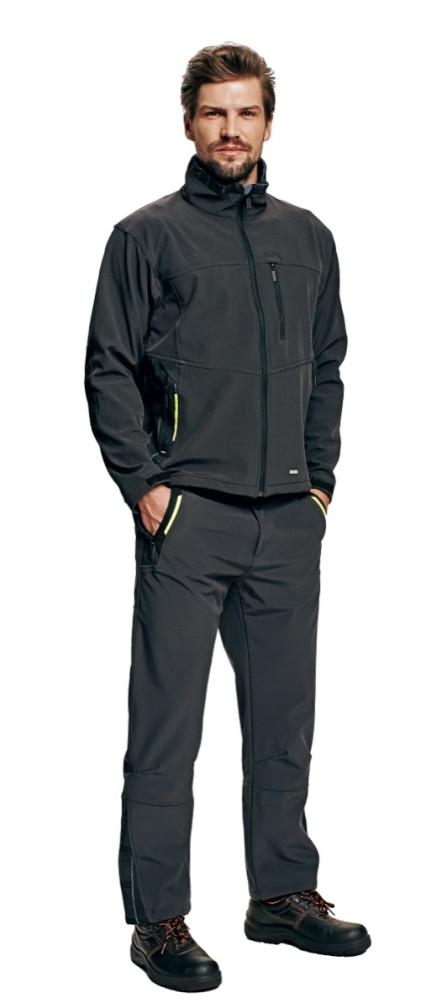 OLZA softshell dzseki szürke