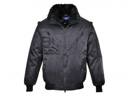 PJ10 Pilóta dzseki fekete