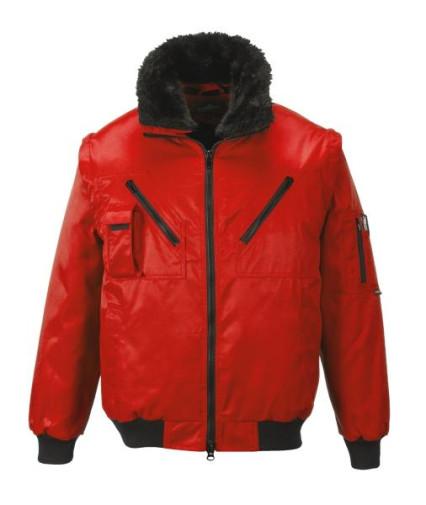 PJ10 Pilóta dzseki piros