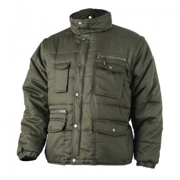 POLENA SLEEVE zöld kabát