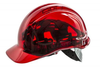 PV50 Védősisak peakview range piros