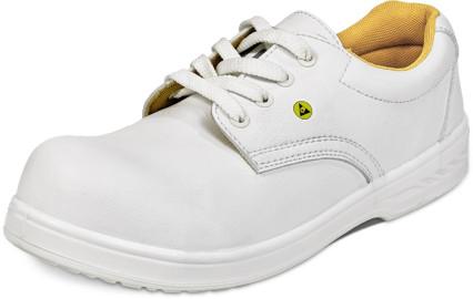 RAVEN ESD O1 SRC félcipő fehér