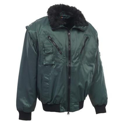 RPIZO Rock pilóta téli dzseki zöld