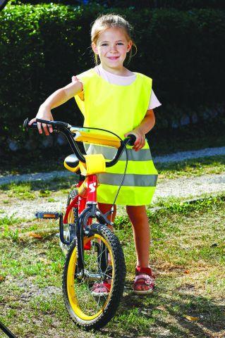 RSV006 Gyermek jóláthatósági mellény, citromsárga