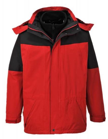 S570 Aviemore 3/1 kabát piros