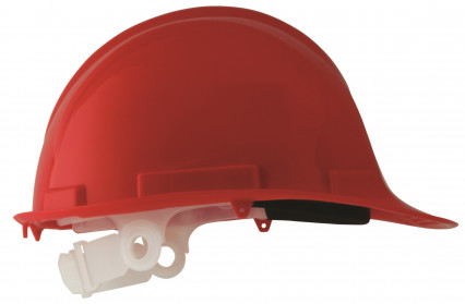 SE1701-P PP munkavédelmi sisak, piros