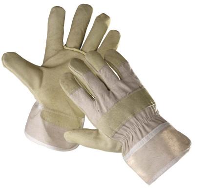 SHAG hasított sertésbőr tenyerű téli bélelt kesztyű