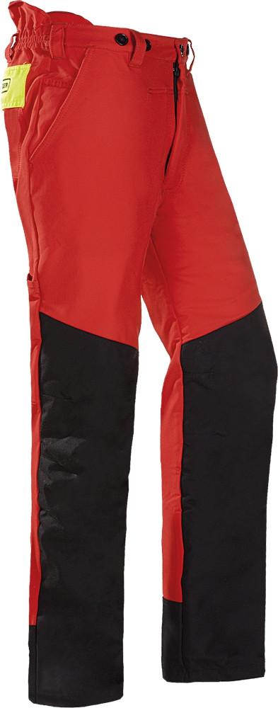 SIOEN SIP 1XSP láncfűrész nadrág piros-fekete