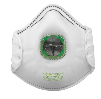 SPIROTEK VS2100V FFP1 szelepes maszk