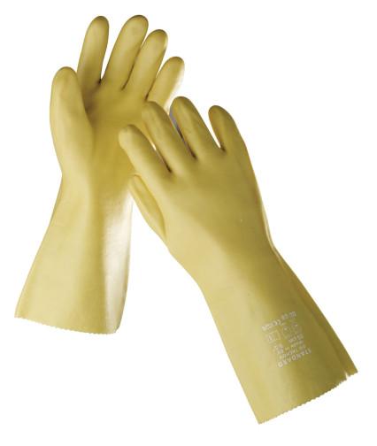 STANDARD PVC kesztyű sárga