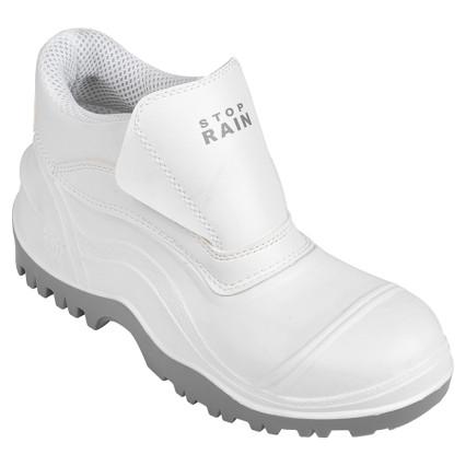 STOPRAIN-AB-W PVC bakancs, fehér, S4