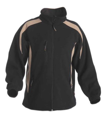 TENREC polár pulóver fekete