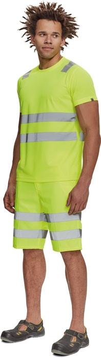 TERUEL Hi-Vis póló sárga
