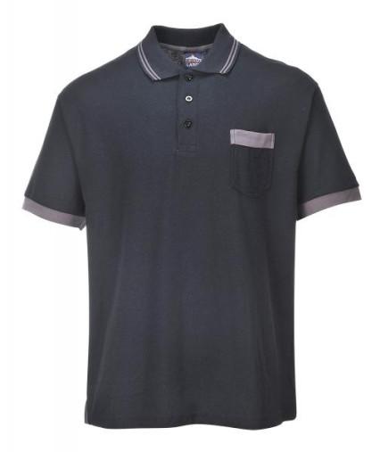 TX20 Texo contrast póló fekete