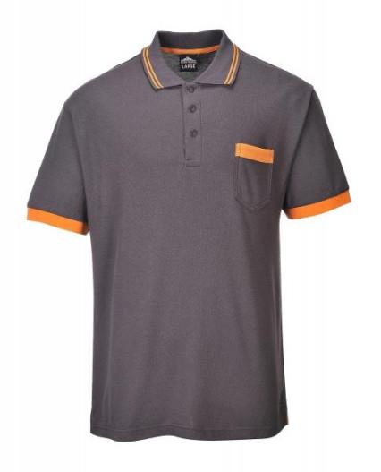 TX20 Texo contrast póló szürke