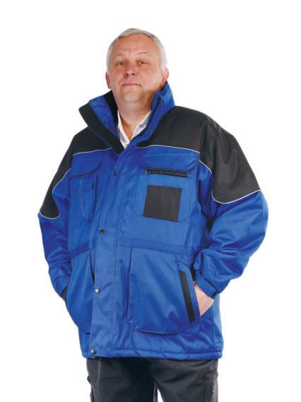 ULTIMO kék bélelt kabát