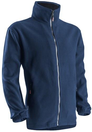 XVPOB CIPZÁROS POLÁR pulóver kék