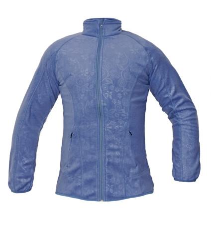 YOWIE női polár dzseki kék