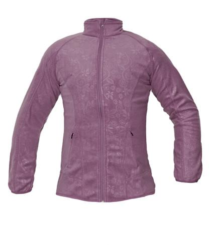 YOWIE női polár dzseki lila
