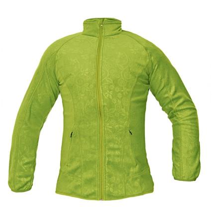 YOWIE női polár dzseki zöld